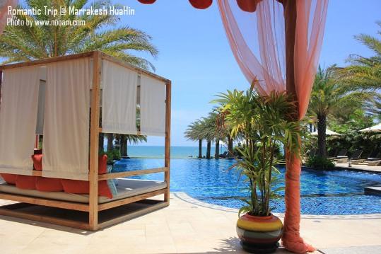 รีวิว มาราเกชหัวหินรีสอร์ทแอนด์สปา (Marrakesh Hua Hin Resort & Spa) รีสอร์ทสไตล์โมรอคโค บรรยากาศโรแมนติกและสระว่ายน้ำสวยๆ