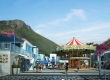 รีวิว Santorini Park Cha-Am (ซานโตรินี่ พาร์ค ชะอำ) แหล่งช้อปปิ้งและสวนสนุกแห่งใหม่ ชะอำ-หัวหินและแผนที่วิธีเดินทาง