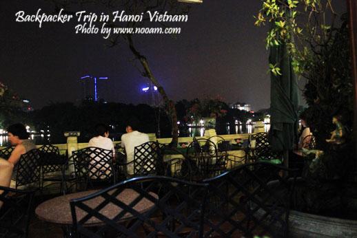 รีวิวร้าน New Day Restuarant และร้านอาหารโรแมนติกริมทะเลสาบฮหว่านเกี๊ยม ที่ฮานอย เวียดนาม