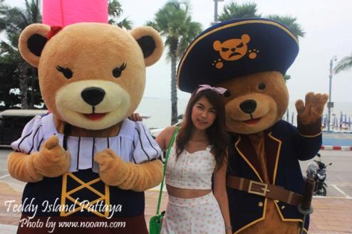 รีวิว Teddy Island  ชมพิพิธภัณฑ์ตุ๊กตาหมีเท็ดดี้แบร์ ที่พัทยาเหนือ