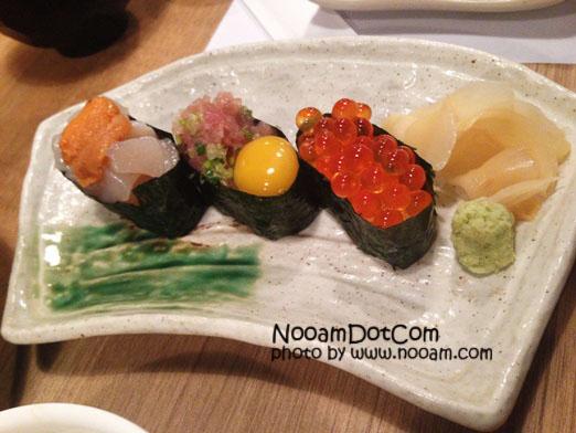 รีวิวร้าน Sousaku (โซซาคุ) 創作 ซูชิ (Sushi) และอาหารญี่ปุ่น สดอร่อยมาก บริการดี ที่ซอยอารีย์ 2 พหลโยธิน 7