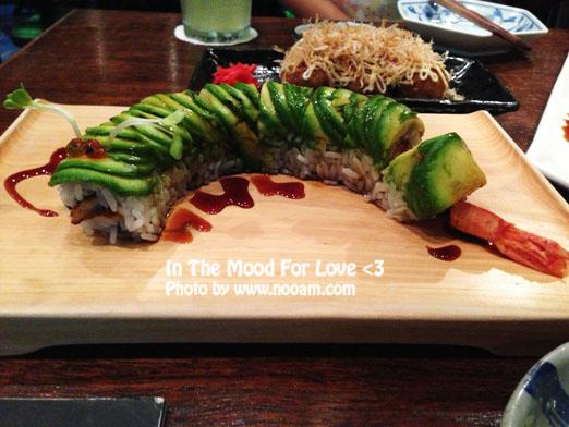 รีวิว ร้านอาหารญี่ปุ่น In The Mood For Love ร้านบรรยากาศดี อาหารสดอร่อย ซอยสุขุมวิท36 บริการดีเยี่ยม