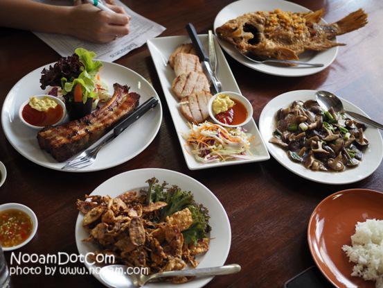 รีวิว ร้านอาหาร ครัวเขาใหญ่ ร้านอาหารขึ้นชื่อเมืองปากช่อง นครราชสีมา