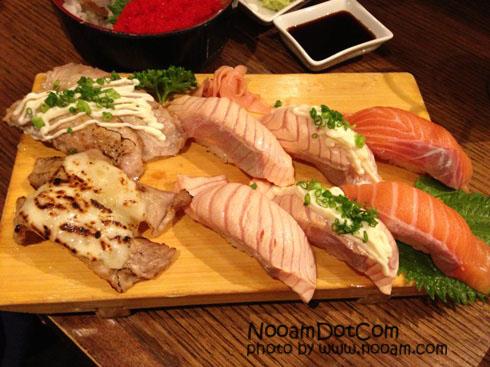 รีวิว Sushi Den ร้านซูชิปลาดิบสายพานหมุน อร่อยๆ สาขาเซ็นทรัลลาดพร้าว