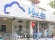 รีวิว ร้าน Blue Sky Cafe & Restaurant (บลู สกาย คาเฟ่) ร้านอาหารน่ารักๆ ชิมเค้กโฮมเมดชิ้นโต ข้าวผัดปลาสลิดและข้าวไข่ระเบิดแสนอร่อย