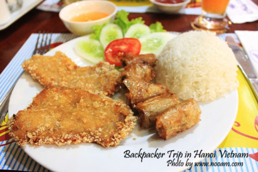 รีวิวร้าน New Day restaurant และร้านอาหารโรแมนติกริมทะเลสาบฮหว่านเกี๊ยม ที่ฮานอย เวียดนาม
