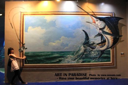 รีวิว Art in Paradise Pattaya (อาร์ท อิน พาราไดซ์) พิพิธภัณฑ์ศิลปะ ภาพวาดสามมิติ (3มิติ) พัทยาเหนือ สาย 2