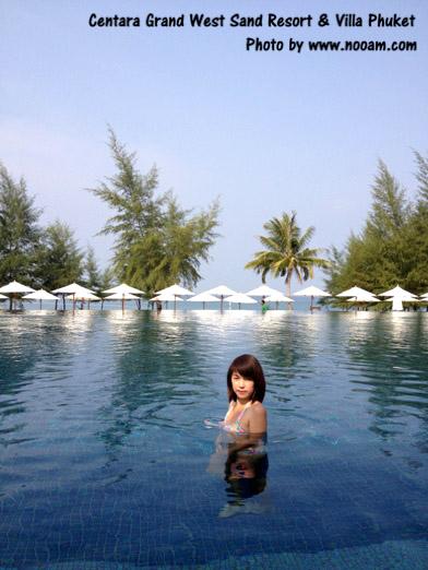 รีวิว เซ็นทาราแกรนด์เวสท์แซนด์รีสอร์ทแอนด์วิลลา (centara grand west sands resort villas) รีสอร์ทหรู ติดสวนน้ำภูเก็ต หาดไม้ขาว