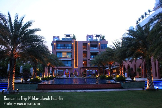 รีวิว มาราเกชหัวหินรีสอร์ทแอนด์สปา (Marrakesh Hua Hin Resort & Spa) รีสอร์ทสไตล์โมรอคโค บรรยากาศโรแมนติกและสระว่ายน้ำสวยๆ 24 ชม