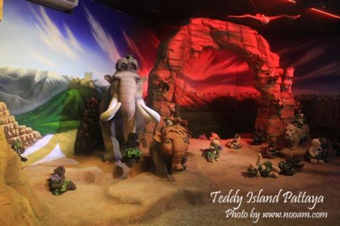 รีวิว Teddy Island พัทยาเหนือ ชมหมีเท็ดดี้แบร์