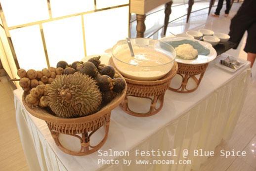 รีวิว บุฟเฟ่ต์นานาชาติอร่อยๆ ที่ห้องอาหารบลูสไปซ์ (BlueSpice) โรงแรมแกรนด์เซนเตอร์พอยต์ เทอร์มินัล 21 สี่แยกอโศก ถนนสุขุมวิท