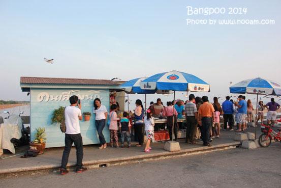 รีวิว สถานตากอากาศบางปู ชมนกนางนวลและทานอาหารที่ร้านศาลาสุขใจ