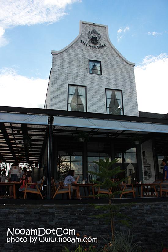 รีวิวร้าน Villa De Bear ทานอาหารในโรงงานหมี สไตล์ฮอลแลนด์ ถนนราชพฤกษ์
