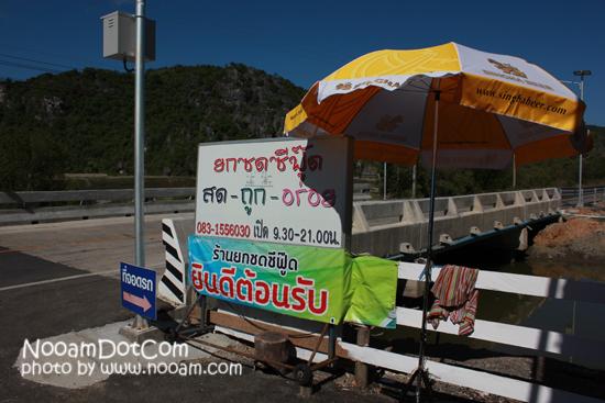 รีวิวร้านยกซด ซีฟู๊ด ปราณบุรี อาหารทะเลสด  อุทยานแห่งชาติเขาสามร้อยยอด ใกล้ถ้ำพระยานคร