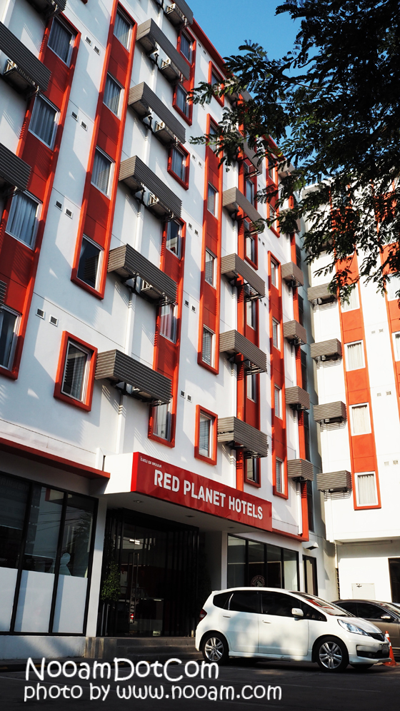 รีวิว Red Planet Hotel พัทยา ห้องพักสะอาด ราคาเบาๆ สะดวกใกล้แหล่งท่องเที่ยว