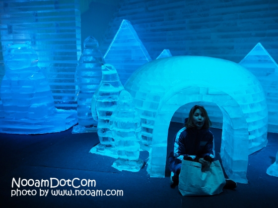 รีวิวเมืองหิมะ เมืองน้ำแข็ง บางละมุง-พัทยา พร้อมค่าเข้า (Frost Magical Ice Of Siam)