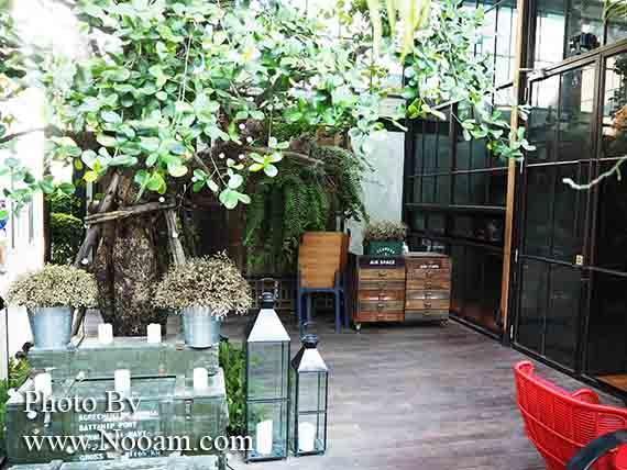 รีวิว แอร์ สเปซ หัวหิน (Air Space Hua Hin) คาเฟ่และร้านอาหารสุดแนวแถวเขาตะเกียบ ร้านนั่งชิลที่หัวหิน