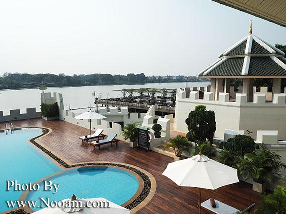 รีวิวโรงแรม บัดดี้ โอเรียนทอล ริเวอร์ไซด์ สถานที่พักผ่อนใกล้กรุงเทพวิวแม่น้ำ พร้อมสระว่ายน้ำ ฟิตเนสและสปา